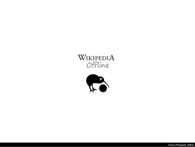 Framasoft et Wikimedia France proposent en 2012 une clé USB contenant l'encyclopédie libre Wikipédia accompagnée de plusie...