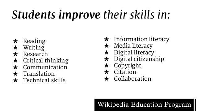Collaborative Teaching Wikipedia ~ Wikipedia why it belongs in education