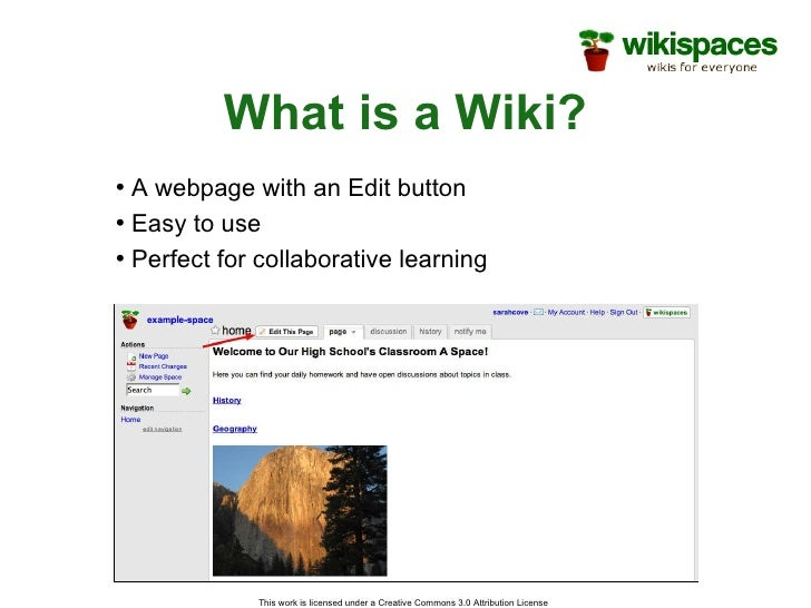 Collaborative Teaching Wiki ~ Wiki ppt