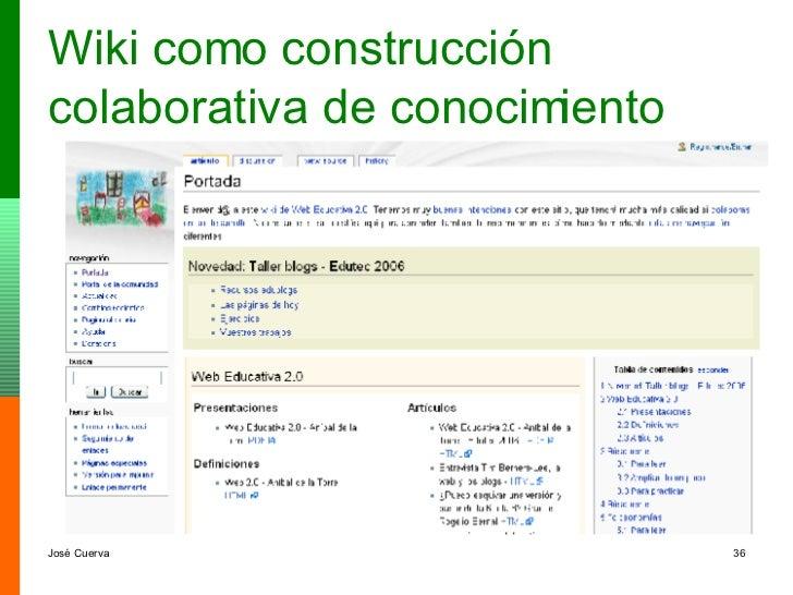 Wiki como construcción colaborativa de conocimiento