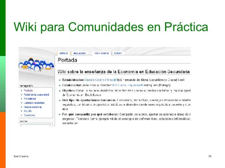 Wiki para Comunidades en Práctica