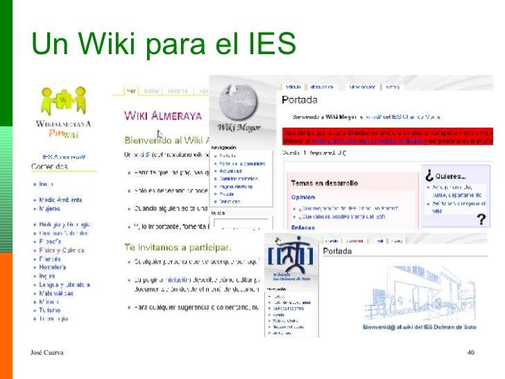 Un Wiki para el IES