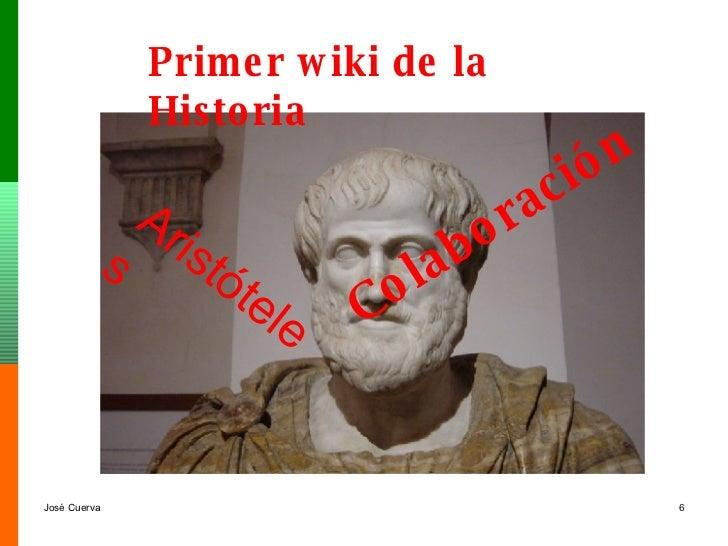 Primer wiki de la Historia Aristóteles Colaboración