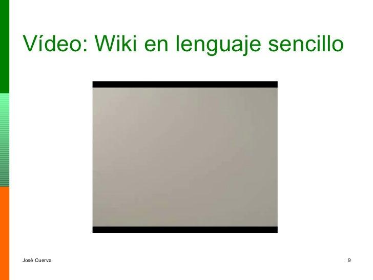Vídeo: Wiki en lenguaje sencillo