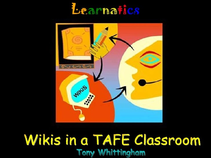 Wikis in a TAFE Classroom WIKI Tony Whittingham