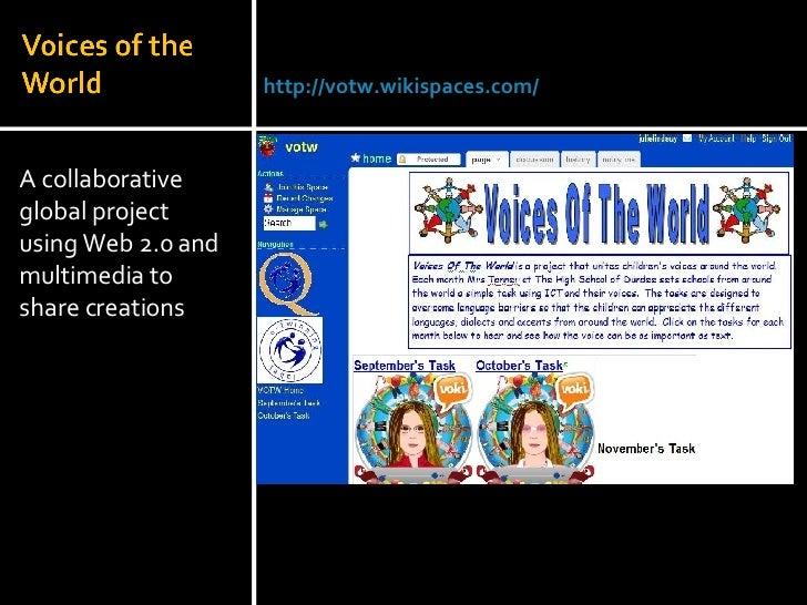 <ul><li>A collaborative global project using Web 2.0 and multimedia to share creations </li></ul>Julie Lindsay | Head of I...