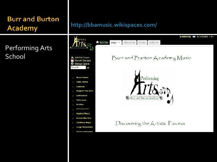 <ul><li>Performing Arts School </li></ul>Julie Lindsay | Head of Information Technology |Qatar Academy | November 2007 htt...