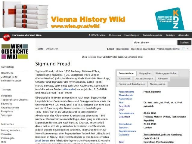 www.kdz.or.at  Vienna History Wiki www.wien.gv.at/wiki  07. Oktober 2014 · Seite 22