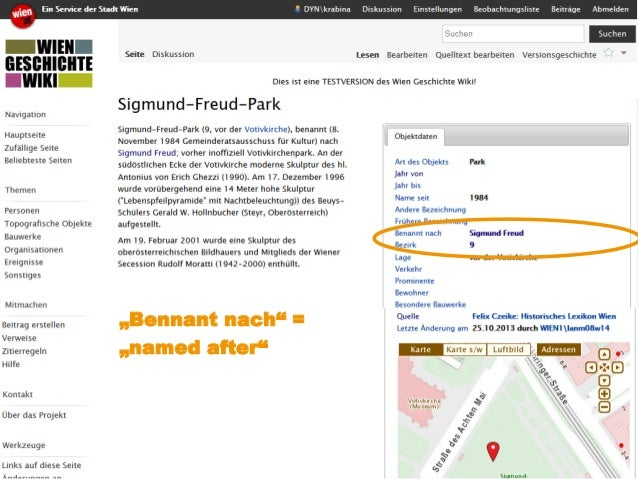 "www.kdz.or.at  07. Oktober 2014 · Seite 23  ""Bennant nach"" = ""named after"""