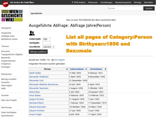 www.kdz.or.at  07. Oktober 2014 · Seite 25  List all pages of Category:Person with Birthyear::1856 and Sex::male