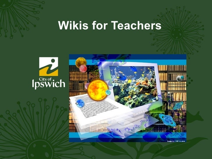 Wikis for Teachers