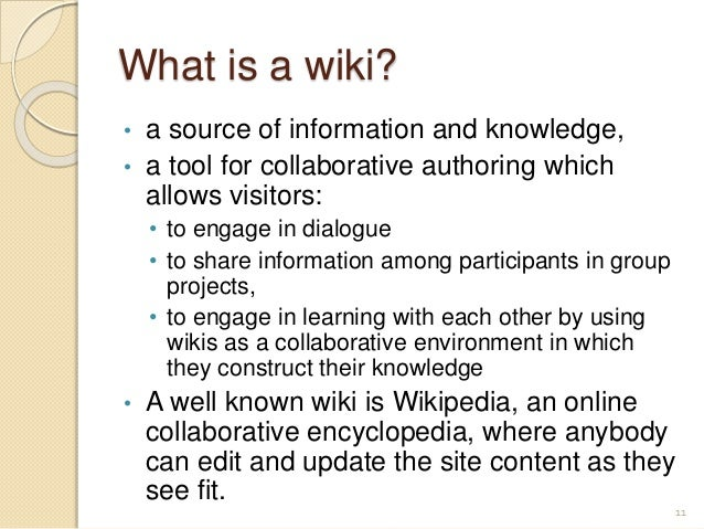 Collaborative Classroom Practices ~ Wikis in the efl classroom