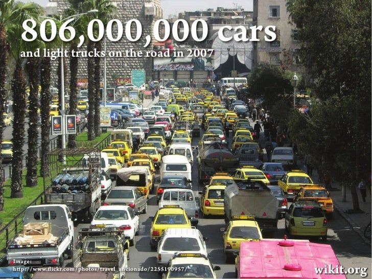 Wikit: How to stop traffic jam and save the world Slide 2