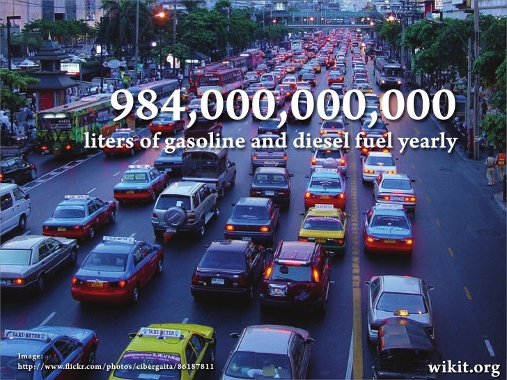 Wikit: How to stop traffic jam and save the world Slide 3