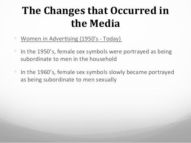 Women as sex symbols in media
