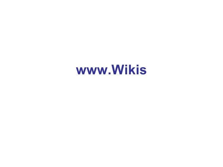 www.Wikis