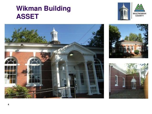 Wikman Building    ASSET       First4