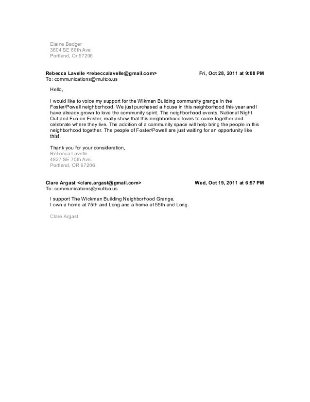 Public Comment to Multnomah County Commissioners from MaryLouise Ott (ottzero@gmail.com)Regarding the Wikman Building – Ar...
