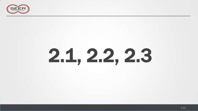 2.1, 2.2, 2.3                140