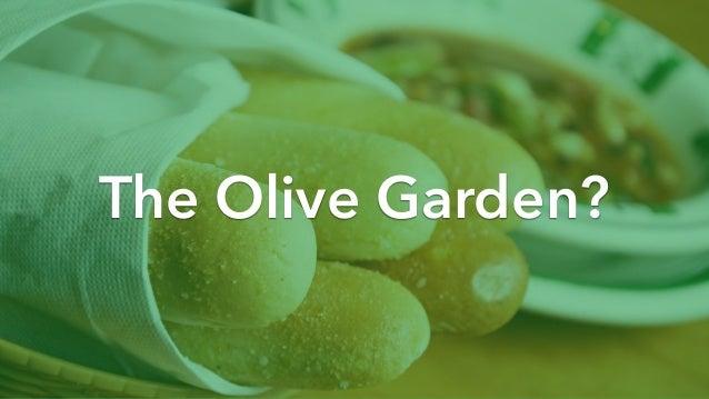 Enterprise Usability: The Olive Garden Principle