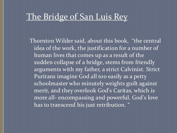 Bridge of San Luis Rey