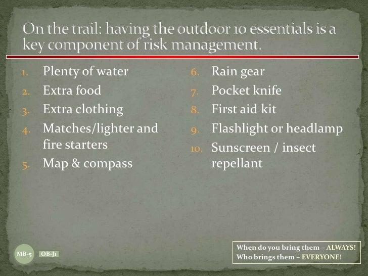Wilderness Survival - The BSA Way 11 08 09