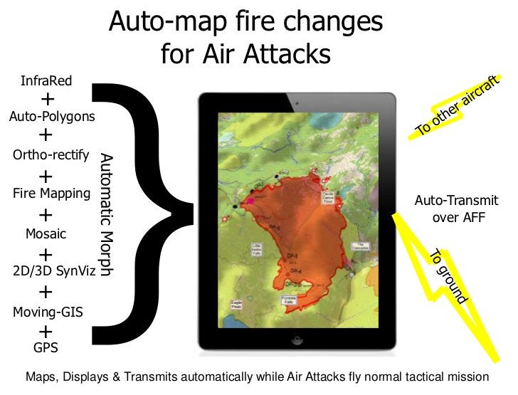 Auto-map fire changes                            for Air Attacks InfraRed    +Auto-Polygons    +Ortho-rectify             ...