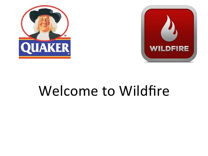 Welcome to Wildfire