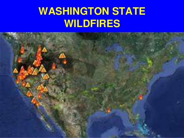 Wildfires Still Out Of Control Washington State Slide 3