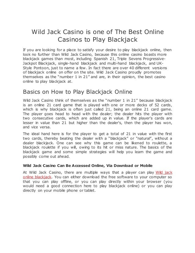 Wildjackcasino Mobile