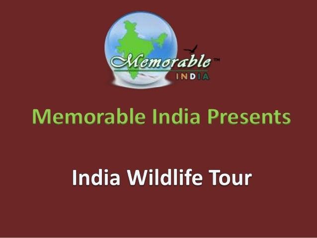 Memorable India Presents