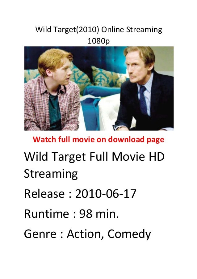 Wild Target 2010 Online Streaming 1080p English Comedy Action Movies