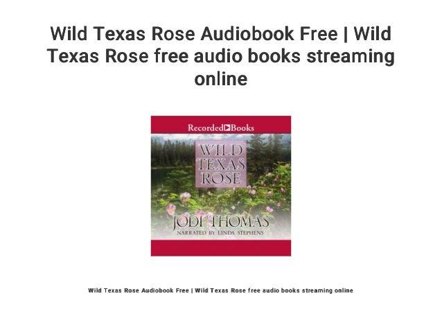Wild Texas Rose Audiobook Free | Wild Texas Rose free audio