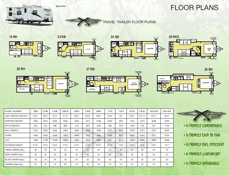 model 26 bh floor plans travel trailer floor plans 18