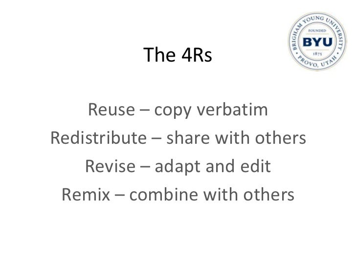 Use copyright to enforce sharing<br />
