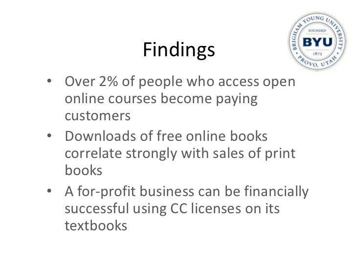 Publications<br />Hilton, J. & Wiley, D. (in press). Free E-Books and Print Sales. Journal of Electronic Publishing.<br />...