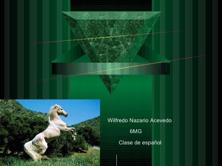 POEMARIO ELECTRÓNICO Los caballos y los perros son lo maximo Wilfredo Nazario Acevedo 6MG Clase de español
