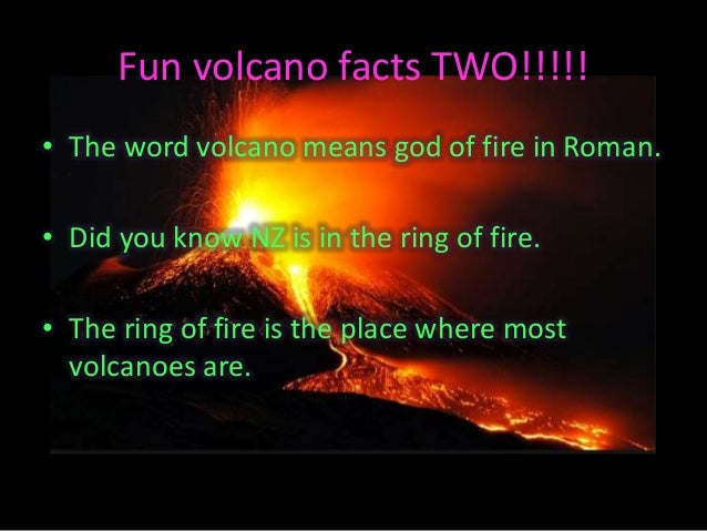 Every Volcano In The Ring Of Fire