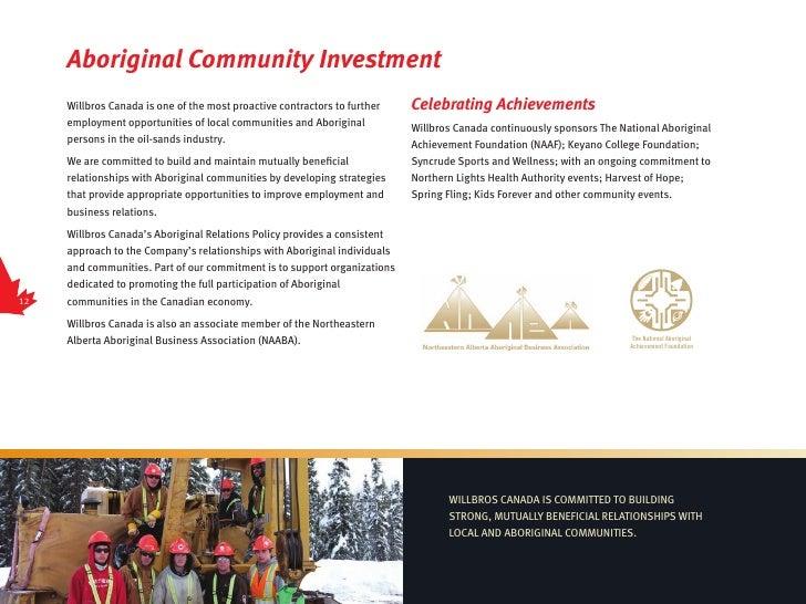 Willbros Canada Brochure