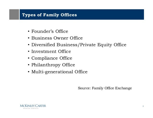 ... 7. Types Of Family Officesu2022 ...
