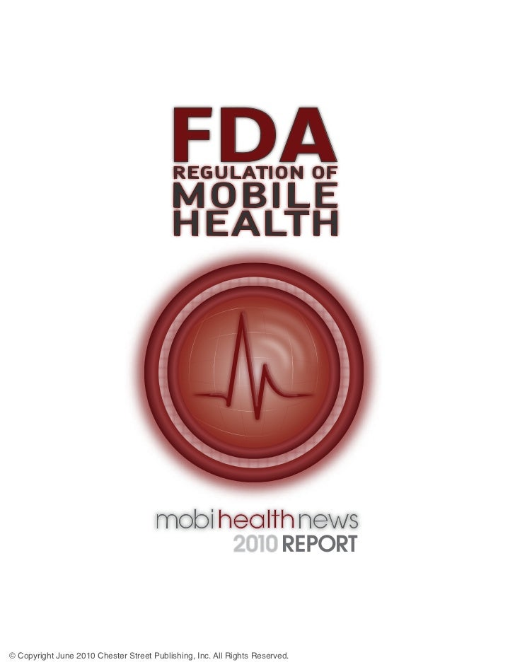 FDA                                           REGULATION OF                                          MOBILE               ...