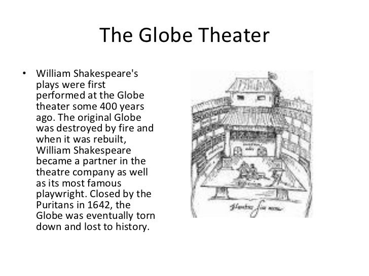 an introduction to william shakespeare and the globe theatre During shakespeare's era, the globe theatre was not in the formal jurisdiction of london per se, but was located on the south side of the thames river in the southwark district along with its predecessors and rivals, the globe theatre was part of what might be called the sporting district (if not the red light district) of greater.