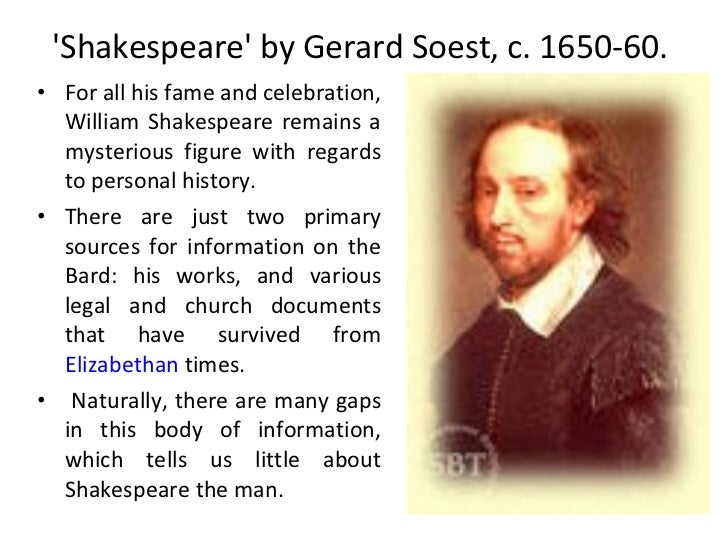 A Biography of William Shakespeare, an English Playwright and Poet