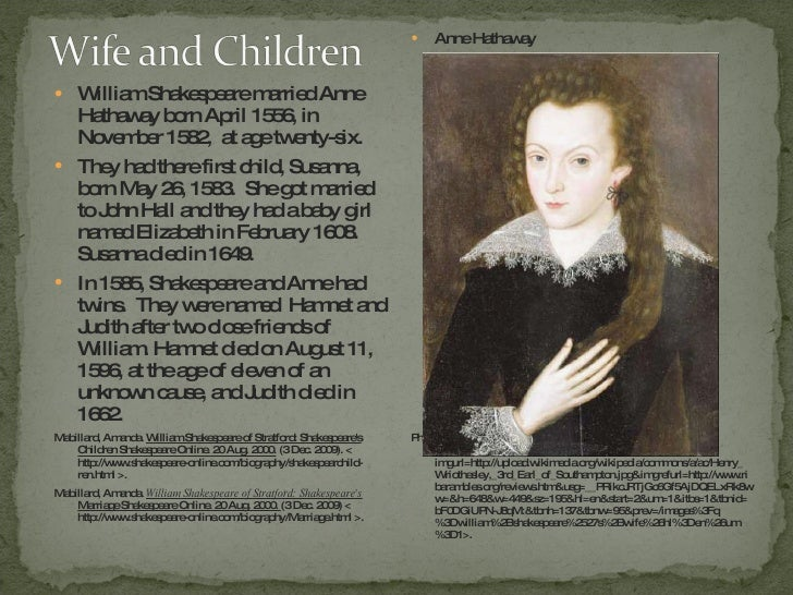William Shakespeare (biography)