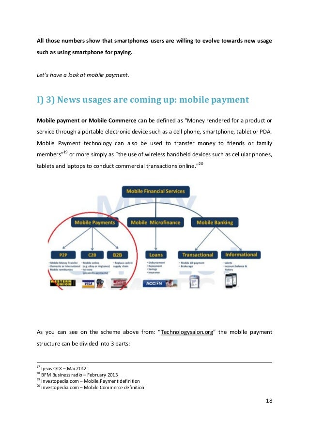 18All those numbers show that smartphones users are willing to evolve towards new usagesuch as using smartphone for paying...