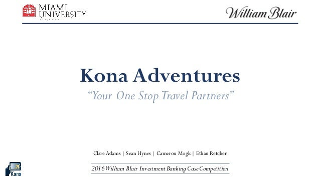 "Kona Adventures ""Your One StopTravel Partners"" Clare Adams 