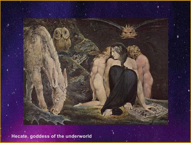Hecate, goddess of the underworld
