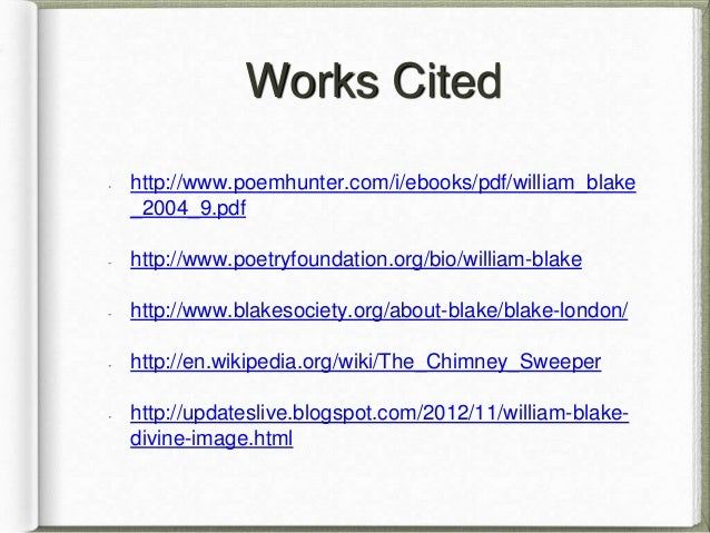 william blake poem analysis by brennan pierce