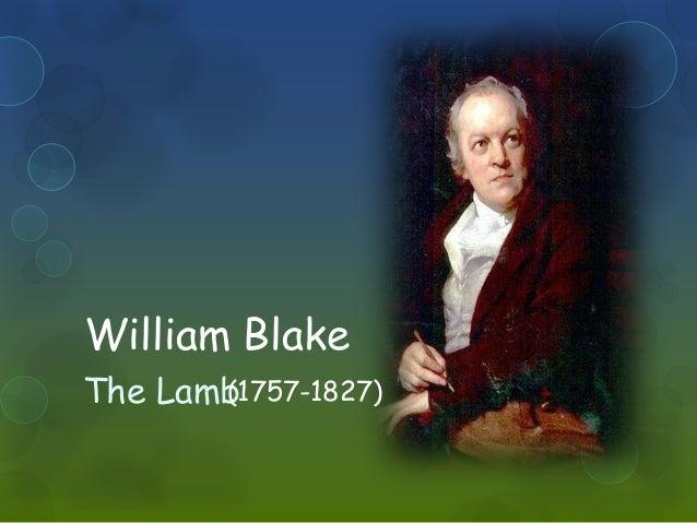 William Blake  The Lamb(1757-1827)