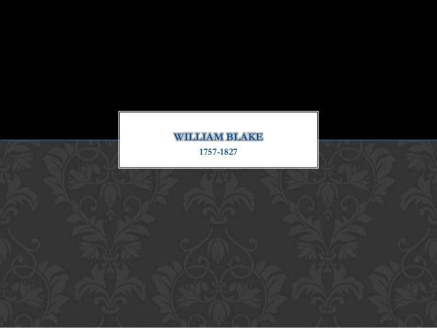 1757-1827 WILLIAM BLAKE